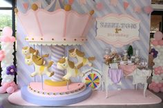 "Photo 8 of 20: Carousel / Birthday ""Shelton's 1st Birthday party"" 