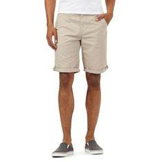 Red Herring Beige chino shorts   Debenhams