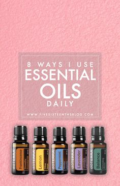 Eight Ways I Currently Use Essential Oils Daily If you haven't been hanging around on the blog too long you might not know that Essential Oils have become my number one jam recently. Currently my main focus is using them to enhance mindfulness and help with my spiritual journey. ButI've found that I'm using them in a ton of different ways that that. Practical ways at that! I'm using essential oils in everyday ways too. These potent little guys fit right into your everyday routine - and can…