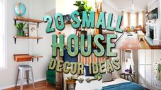 20 Small house decor ideas - DIY Home Decor Ideas -