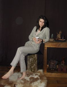 Sustainable-Ethical-Durable-Customized and Personalized by LinenOldWays Linen Blouse, Linen Pants, Handmade Wooden, Handmade Shop, Wooden Necklace, Long Jumpsuits, Ethical Clothing, Slow Fashion, Customized Gifts