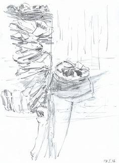 Sct. Croix #3 Blyant på papir | 30x21 cm | 2016 | OCH-T-16-