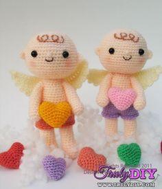 Lovely Cupid by Jaravee Jeerachat (jaravee)-Free Craft Patterns