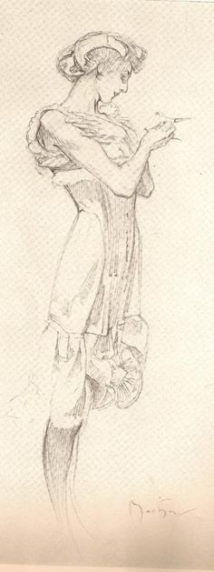 Alphonse Mucha SKETCHES - Google Search