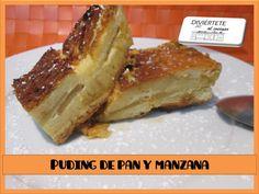 --- PUDDING DE PAN Y MANZANA (VÍDEO AQUI: https://www.youtube.com/watch?v=k63puFTBwIE) /// Sígueme también en: Mi canal de youtube, Buscame en Bloger, Facebook, Instagram y Twitter como divertetealcocinar. Recuerda que cocinar puede ser divertido!!! Adios!!!