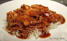 My Recipe Journey: Bourbon Street Crack Chicken - Crockpot Style