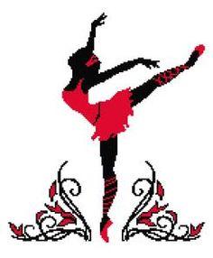 Red Ballerina, Ballet, Dance