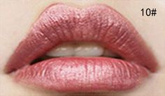 Waterproof Elegant Color Liquid Lipstick Matte Smooth Lip Stick Lipgloss Long Lasting Sweet Girl