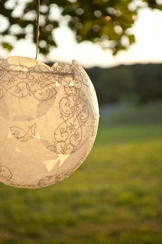 DIY Wedding Favors With Lace | DIY Lace Wedding Decor 275x412 Maryland Wedding Reception: Kelly ...