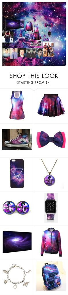 """Nash's Galaxy"" by rockydiamond1 on Polyvore featuring HVBAO, Casetify, Tiffany & Co. and Crystal"
