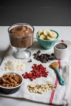 Chocolate Peanut Butter Creamy Chia Pudding | edibleperspective.com