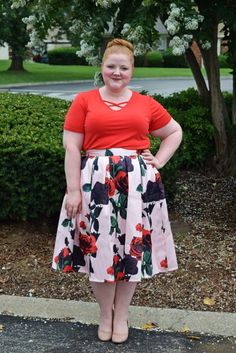 d59624d5e A Pair of Floral Skirts from Your Big Sister s Closet. Plus Size ...