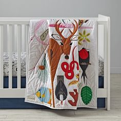 Charlie Harper for Land of Nod (!!!!). LOVE the Florida Keys crib set!