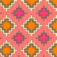 Moroccan kilim rug inspired pattern ~ happy to rescale by request