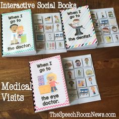 Throughout the school year many of my families and students need help with helping prepare their kids for medical visits. I've used a few different ideas and I thought I'd share them all in one place for you. I like to pair videos and interactive vocabulary books! My favorite videos come from the most adorable [...]