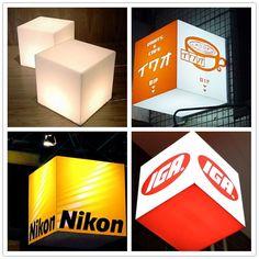 Customized Acrylic Cube Light Box