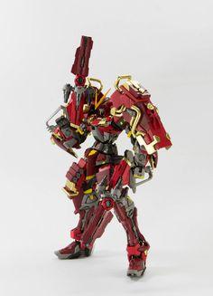 GUNDAM GUY: MG 1/100 Ronin Gundam Astray Red Dragon - Custom Build