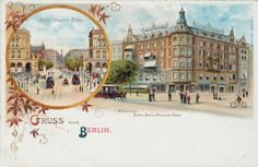 Berlin / Belle Alliance Square / c. 1900