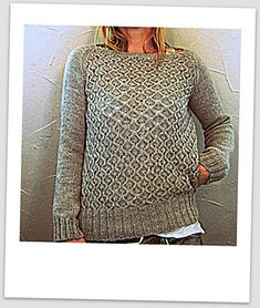 chalkstone by Isabell Kraemer in Rowan Felted Tweed ~ sized XS, S, M, L, XL