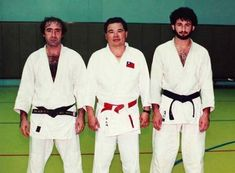 15.) Osama Bin Laden and his judo classmates.