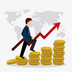 Economía global, dinero y negocios | Free Vector #Freepik #freevector #negocios #dinero #mapa #mundo Marketing Viral, Insurance Marketing, Digital Marketing, Cryptocurrency List, Bitcoin Business, Business Money, Business Cartoons, Financial Accounting, Global Economy