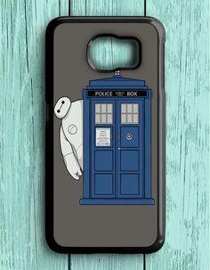 Big Hero Doctor Who Samsung Galaxy S6 Case