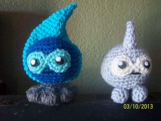 COMPLETED: 84 GOAL: 649?             Been very busy at work and decided to start back crochetingwith some easier Pokemon. I figured I woul...