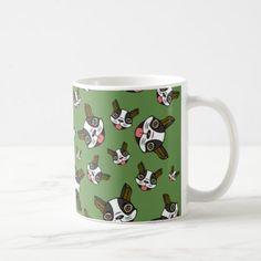#Boston Terriers #15 Coffee Mug - #boston #terrier #puppy #dog #dogs #pet #pets #cute #bostonterrier
