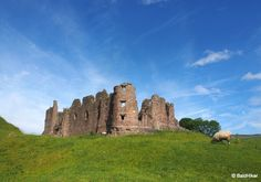 Brough Castle, near Kirkby Stephen, Cumbria - The history to a ruin