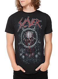 HOTTOPIC.COM - Slayer Bleeding Skull T-Shirt