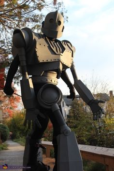 Robots love the sunset, Iron Giant Costume