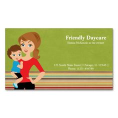 244 best childcare business cards images on pinterest business daycare business card colourmoves