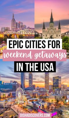 USA Weekend Trips: 16 Amazing Destinations for a Short Getaway | USA weekend trips | USA weekend getaways | travel destinations USA weekend getaways | travel USA weekend getaways | places to go in the USA weekend getaways | romantic getaways in USA weekend trips | weekend trip USA | best USA weekend trips | long weekend trips USA | weekend trips in USA | weekend trips for couples USA | weekend trips in the USA | weekend trips America | best long weekend trips America | #usaweekendtrips