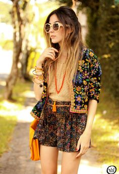 The Hottest Spring Fashion Trends....I think I would do a black jacket instead of the extra print though