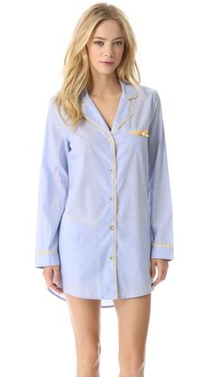 Juicy Couture chambray nightshirt.