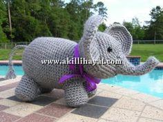 Amigurumi fil tarifi yapılışı (anlatımlı)