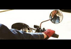 vintage motorcycle babe
