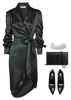"""590"" by owl00 ❤ liked on Polyvore featuring Yves Saint Laurent"