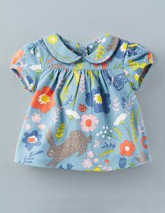 Pretty Collar T-shirt 71467 Tops at Boden