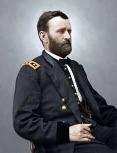 Ulysses S Grant Civil War Color