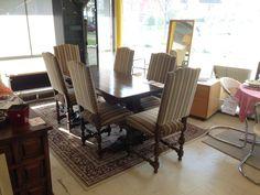 Tisch & 6 Stühle bei HIOB Bellach  #Schnäppchen #Trouvaille