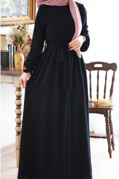 Modern Hijab Fashion, Muslim Women Fashion, Abaya Fashion, Fashion Outfits, Mode Abaya, Mode Hijab, Muslim Dress, Hijab Dress, Stylish Hijab