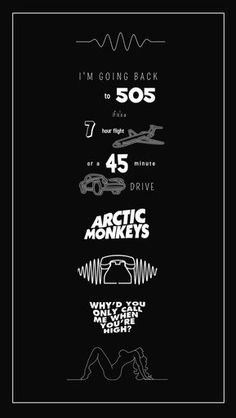 Music Indie Bands Arctic Monkeys Ideas For 2020 Arctic Monkeys Tattoo, Arctic Monkeys Lyrics, 505 Arctic Monkeys, Arctic Monkeys Wallpaper, Monkey Wallpaper, Letras Arctic Monkeys, Monkey Tattoos, Rock Poster, Band Wallpapers