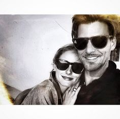 That time they shared a sunglasses selfie.