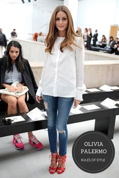 Ok, here we go – first style post…. It seems fitting to feature none other than Olivia Palermo, given that her name + style go together fairly synonymously.