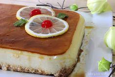 Tarta de limón fría   Cocina