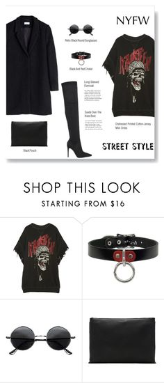 """""""NYFW Street Style: Day One"""" by brccz ❤ liked on Polyvore featuring R13, Kendall + Kylie, Retrò, rag & bone, StreetStyle and NYFW"""