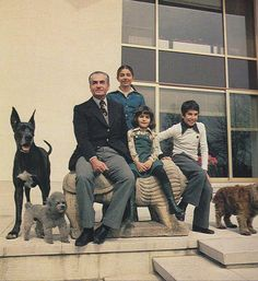 Shah and His Family