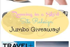 Shiny & New Running in a Skirt Launch Jumbo Giveaway!