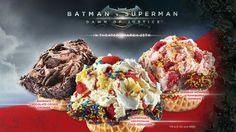 #BatmanvSuperman ice cream